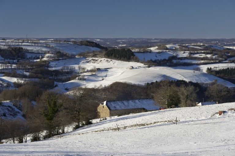 Montagne en hivers